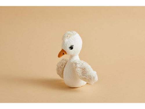 Cam Cam Copenhagen bird rattle - soft organic cotton