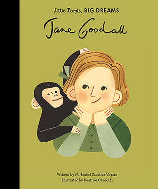 Little People Big Dreams Book Jane Goodall