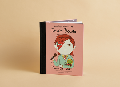 Little People Big Dreams Book David Bowie
