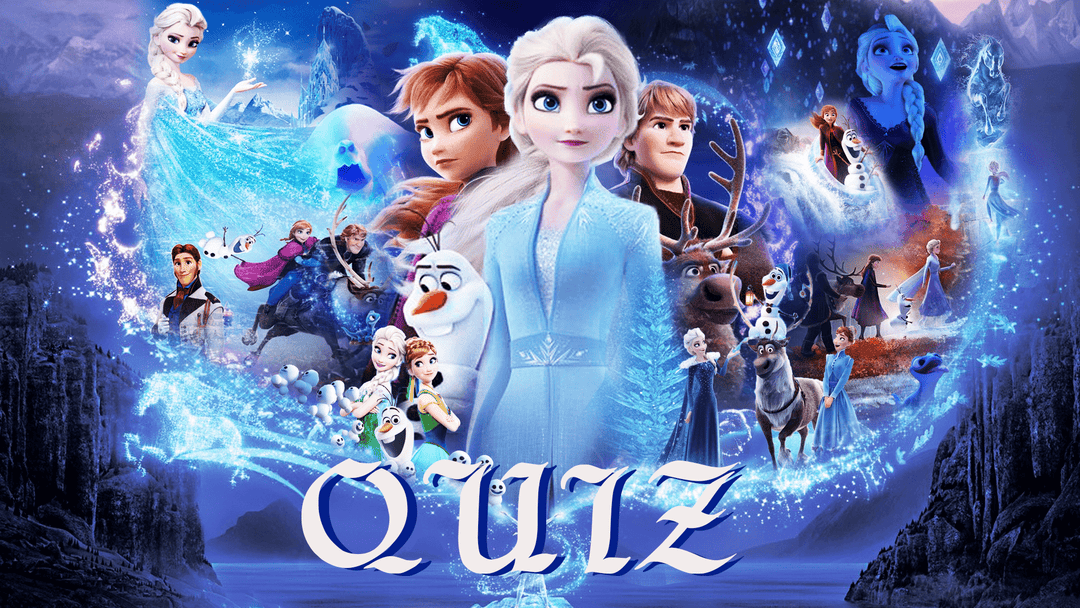 Frozen Shop Gift Quiz
