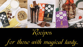 The Wizards Magic chocolate recipes for those with truly magical tastes...