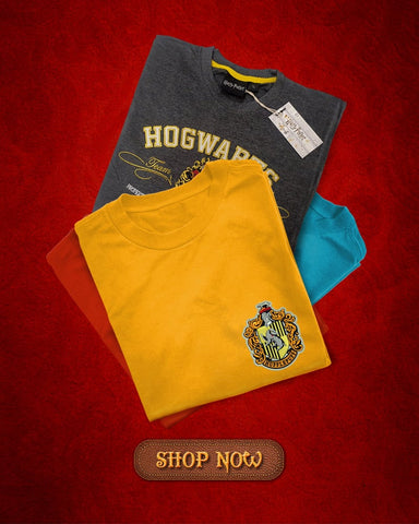 Harry Potter Embroidery T-shirts