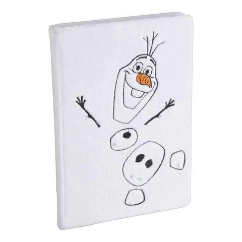 Frozen 2 Olaf Plush Cover Notebook