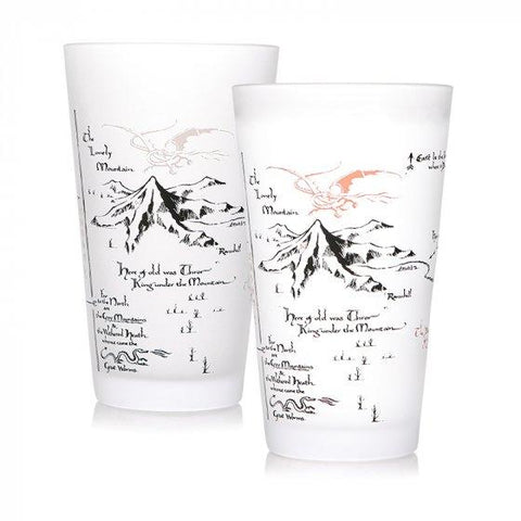 GLASS COLD CHANGE BOXED (450ML) - THE HOBBIT