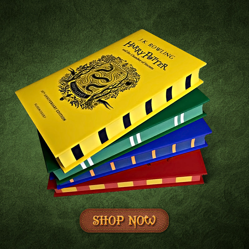 Harry Potter Books By House