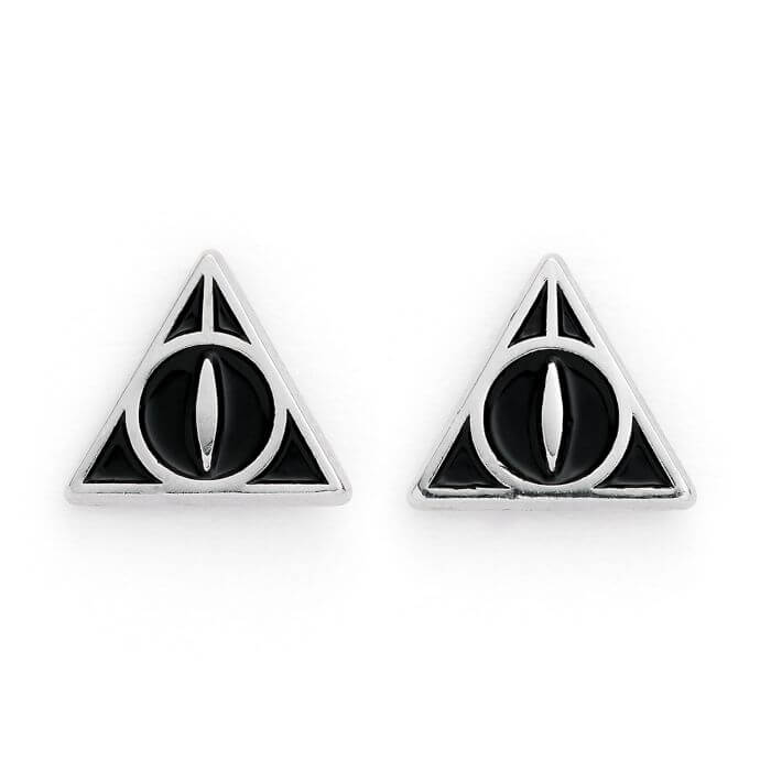 Deathly Hallows Stud Earrings