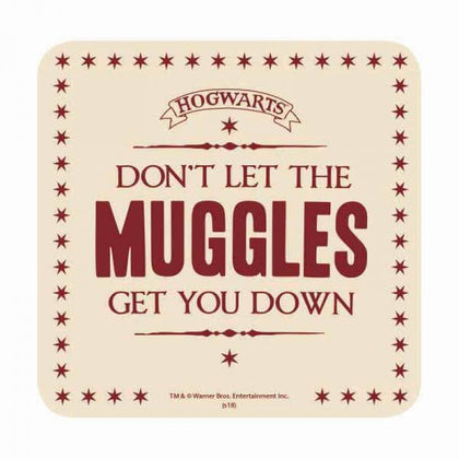 Official Muggles Coaster at the best quality and price at House Of Spells- Fandom Collectable Shop. Get Your Muggles Coaster now with 15% discount using code FANDOM at Checkout. www.houseofspells.co.uk.