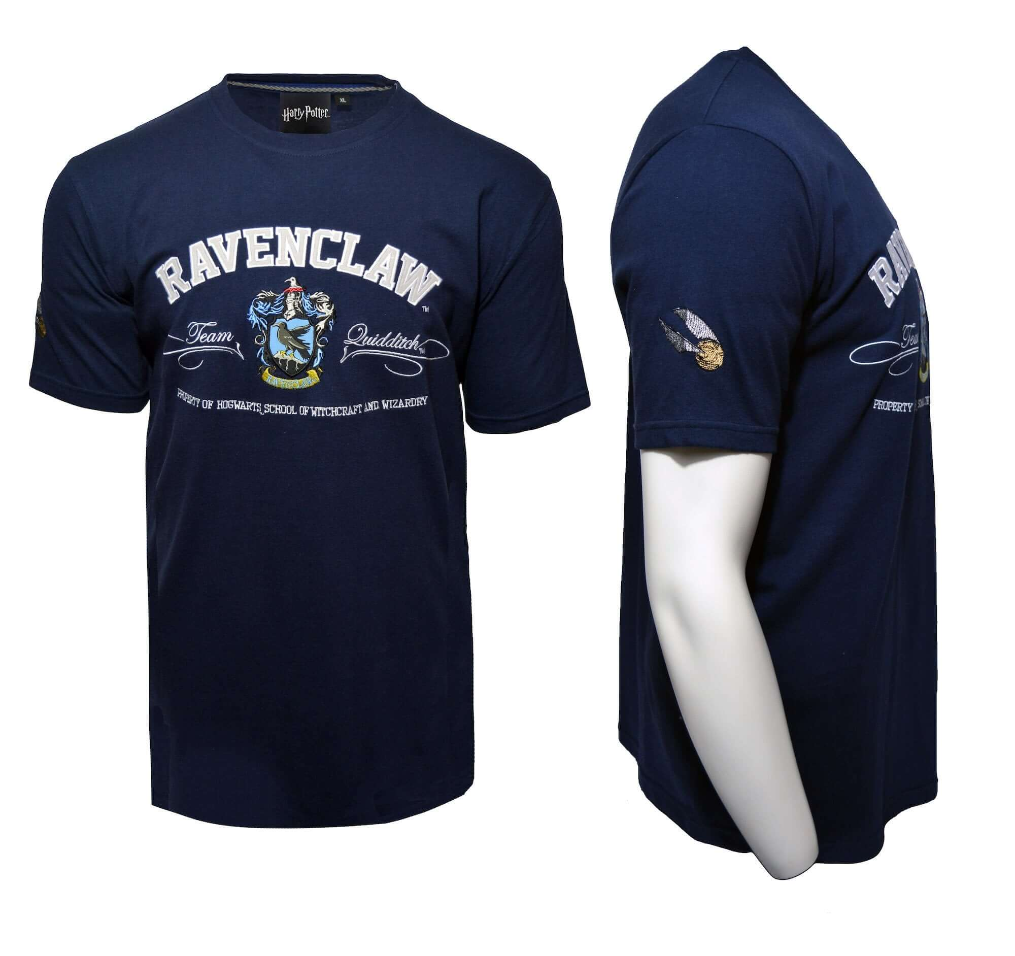 Harry Potter Embroidery T-Shirt - Ravenclaw