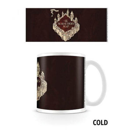Official Harry Potter Marauders Map Heat Changing Mug at the best quality and price at House Of Spells- Harry Potter Themed Shop In London. Get Your Harry Potter Marauders Map Heat Changing Mug now with 15% discount using code FANDOM at Checkout. www.houseofspells.co.uk.