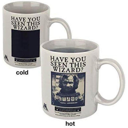 Official Harry Potter Wanted Sirius Black Heat Changing Mug at the best quality and price at House Of Spells- Harry Potter Themed Shop In London. Get Your Harry Potter Wanted Sirius Black Heat Changing Mug now with 15% discount using code FANDOM at Checkout. www.houseofspells.co.uk.