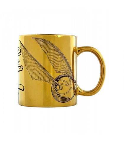 Official Quiddich I'm a Catch Metallic Mug at the best quality and price at House Of Spells- Fandom Collectable Shop. Get Your Quiddich I'm a Catch Metallic Mug now with 15% discount using code FANDOM at Checkout. www.houseofspells.co.uk.