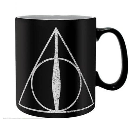 Official Deathly Hallows King size Mug at the best quality and price at House Of Spells- Fandom Collectable Shop. Get Your Deathly Hallows King size Mug now with 15% discount using code FANDOM at Checkout. www.houseofspells.co.uk.