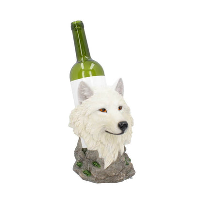 Official Snow Guide Wolf Wine Bottle Holder 19.7cm at the best quality and price at House Of Spells- Fandom Collectable Shop. Get Your Snow Guide Wolf Wine Bottle Holder 19.7cm now with 15% discount using code FANDOM at Checkout. www.houseofspells.co.uk.
