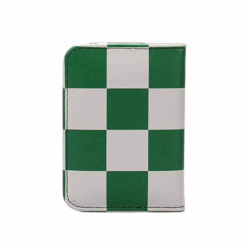 HARRY POTTER (SLYTHERIN CHECK) TRAVEL PURSE HOLDER