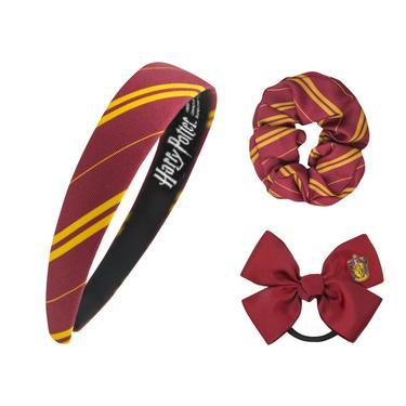 Official Gryffindor Hair Accessories Set - Classic at the best quality and price at House Of Spells- Harry Potter Themed Shop In London. Get Your Gryffindor Hair Accessories Set - Classic now with 15% discount using code FANDOM at Checkout. www.houseofspells.co.uk.