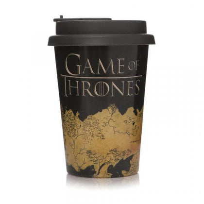 Official Game of Thrones map on a travel mug at the best quality and price at House Of Spells- Fandom Collectable Shop. Get Your Game of Thrones map on a travel mug now with 15% discount using code FANDOM at Checkout. www.houseofspells.co.uk.