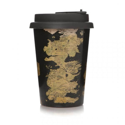 Official Game of Thrones travel mug at the best quality and price at House Of Spells- Harry Potter Themed Shop In London. Get Your Game of Thrones travel mug now with 15% discount using code FANDOM at Checkout. www.houseofspells.co.uk.