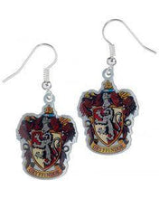 Load image into Gallery viewer, Harry Potter Gryffindor Crest Earrings - House Of Spells