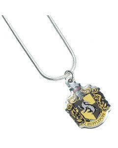 Harry Potter Hufflepuff Crest Necklace - House Of Spells