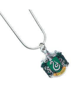 Harry Potter Slytherin Crest Necklace - House Of Spells