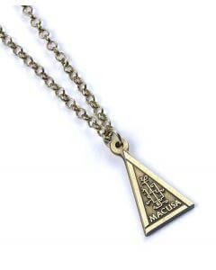 Official Fantastic Beasts Macusa Necklace at the best quality and price at House Of Spells- Fandom Collectable Shop. Get Your Fantastic Beasts Macusa Necklace now with 15% discount using code FANDOM at Checkout. www.houseofspells.co.uk.