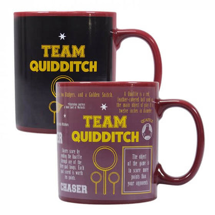 Harry Potter Team Quidditch Heat Changing Mug
