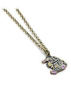 Enamelled Niffler Necklace