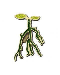 Bowtruckle Pin Badge - House Of Spells
