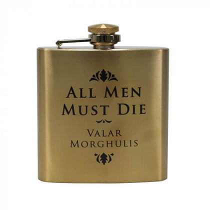 Game Of Thrones-Hip Flask All Men Must Die