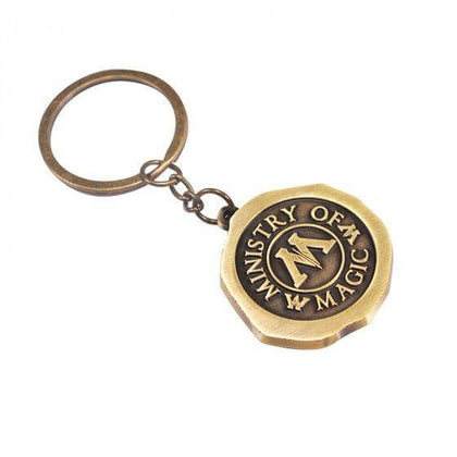 Official MINISTRY OF MAGIC KEY RING at the best quality and price at House Of Spells- Harry Potter Themed Shop In London. Get Your MINISTRY OF MAGIC KEY RING now with 15% discount using code FANDOM at Checkout. www.houseofspells.co.uk.