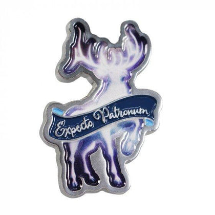 Official Expecto Patronum Pin Badge Enamel at the best quality and price at House Of Spells- Fandom Collectable Shop. Get Your Expecto Patronum Pin Badge Enamel now with 15% discount using code FANDOM at Checkout. www.houseofspells.co.uk.