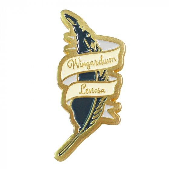 Harry Potter Wingardium Leviosa Pin Badge Enamel