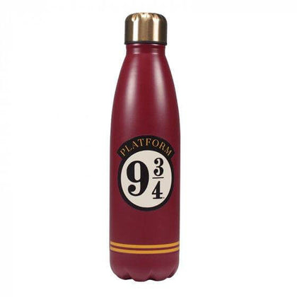 Official Platform 9 3/4 Metal Water Bottle at the best quality and price at House Of Spells- Fandom Collectable Shop. Get Your Platform 9 3/4 Metal Water Bottle now with 15% discount using code FANDOM at Checkout. www.houseofspells.co.uk.