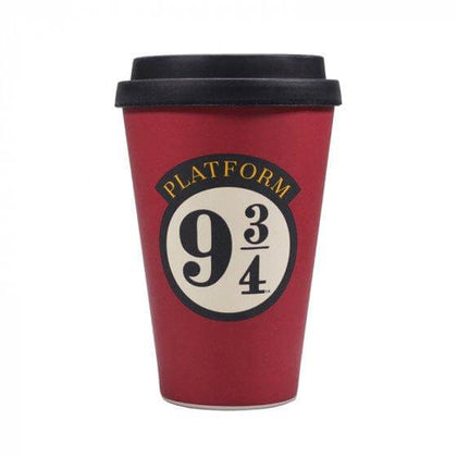Official Platform 9 3/4 Travel Mug at the best quality and price at House Of Spells- Fandom Collectable Shop. Get Your Platform 9 3/4 Travel Mug now with 15% discount using code FANDOM at Checkout. www.houseofspells.co.uk.