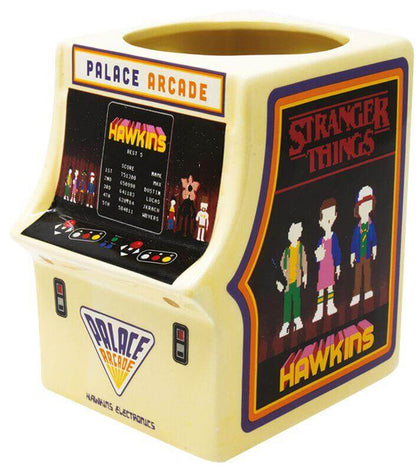 Official Stranger Things (Arcade Machine) Shaped Mug at the best quality and price at House Of Spells- Fandom Collectable Shop. Get Your Stranger Things (Arcade Machine) Shaped Mug now with 15% discount using code FANDOM at Checkout. www.houseofspells.co.uk.