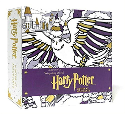 Official Harry Potter: Winter at Hogwarts: A Magical Colouring Set - at the best quality and price at House Of Spells- Harry Potter Themed Shop In London. Get Your Harry Potter: Winter at Hogwarts: A Magical Colouring Set - now with 15% discount using code FANDOM at Checkout. www.houseofspells.co.uk.