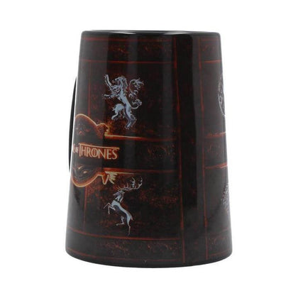 Official Game of Thrones Rustic Sigil Ceramic Tankard Mug at the best quality and price at House Of Spells- Harry Potter Themed Shop In London. Get Your Game of Thrones Rustic Sigil Ceramic Tankard Mug now with 15% discount using code FANDOM at Checkout. www.houseofspells.co.uk.