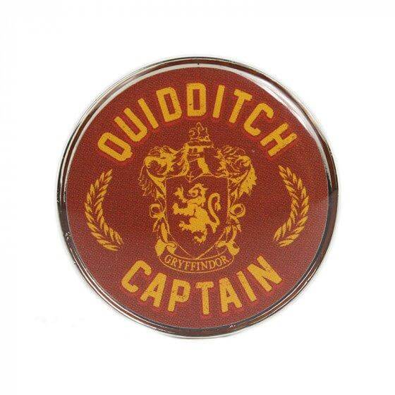 H P QUIDDITCH CAPTAIN PIN BADGE ENAMEL