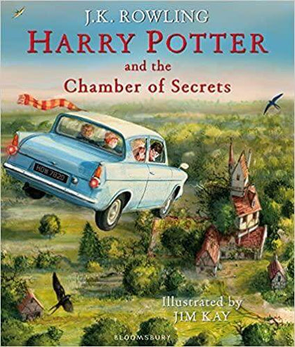 Official Harry Potter and The Chamber of Secrets: Illustrated Edition at the best quality and price at House Of Spells- Fandom Collectable Shop. Get Your Harry Potter and The Chamber of Secrets: Illustrated Edition now with 15% discount using code FANDOM at Checkout. www.houseofspells.co.uk.