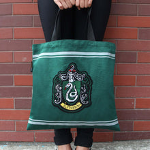 Load image into Gallery viewer, Slytherin Tote Bag - House Of Spells