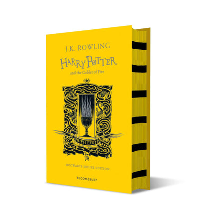 Harry Potter and The Goblet of Fire Hufflepuff Edition Hardback