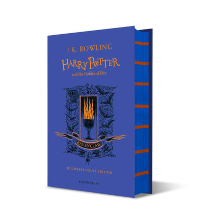 Official Harry Potter and The Goblet of Fire Ravenclaw Edition Hardback at the best quality and price at House Of Spells- Fandom Collectable Shop. Get Your Harry Potter and The Goblet of Fire Ravenclaw Edition Hardback now with 15% discount using code FANDOM at Checkout. www.houseofspells.co.uk.