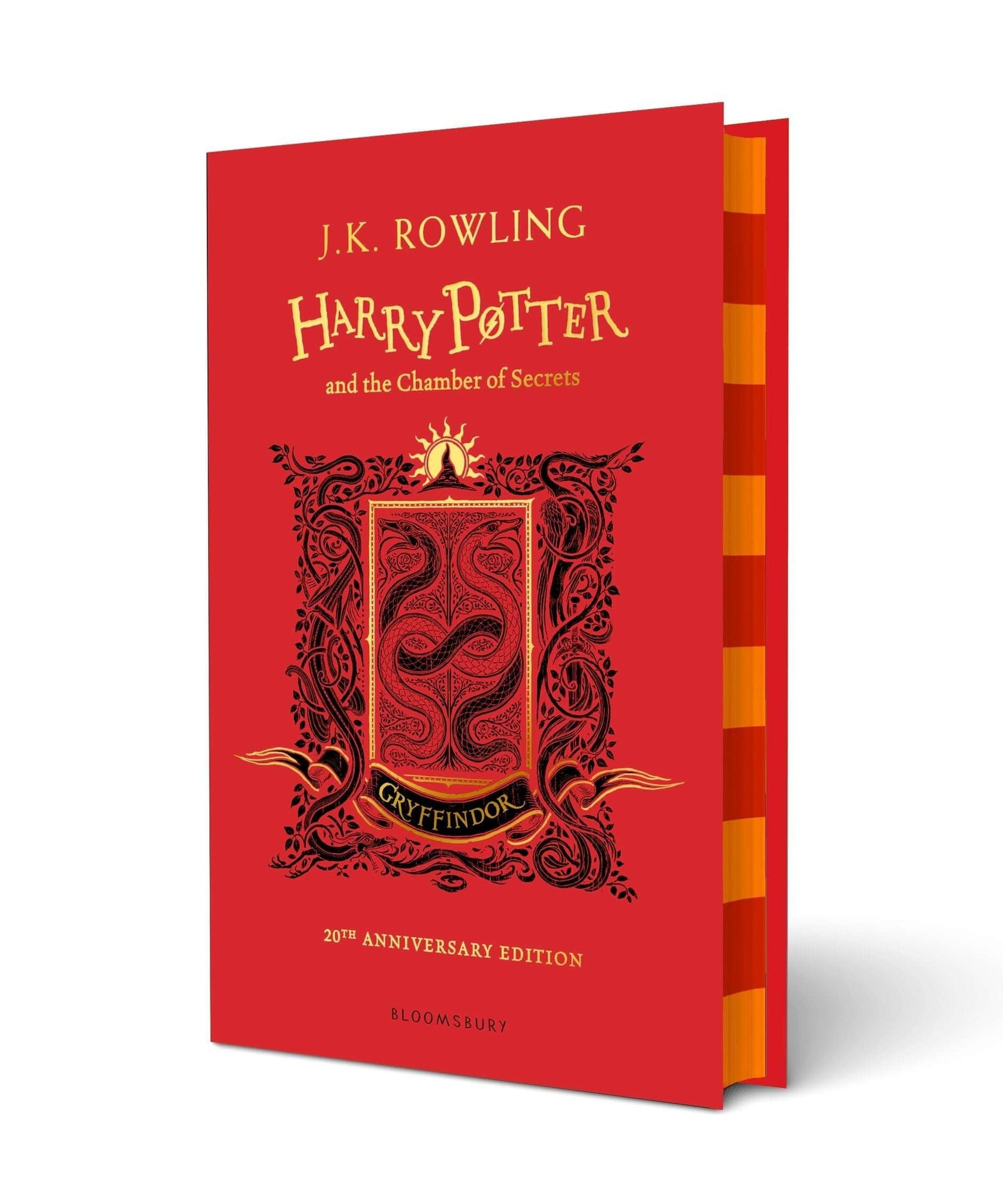 Harry Potter and The Chamber Of Secrets Gryffindor Edition Hardback
