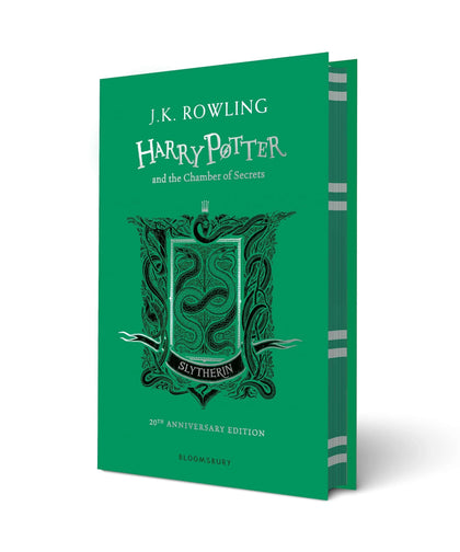 Harry Potter and The Chamber Of Secrets Slytherin Edition Hardback