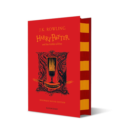 Harry Potter and The Goblet of Fire Gryffindor Edition Hardback