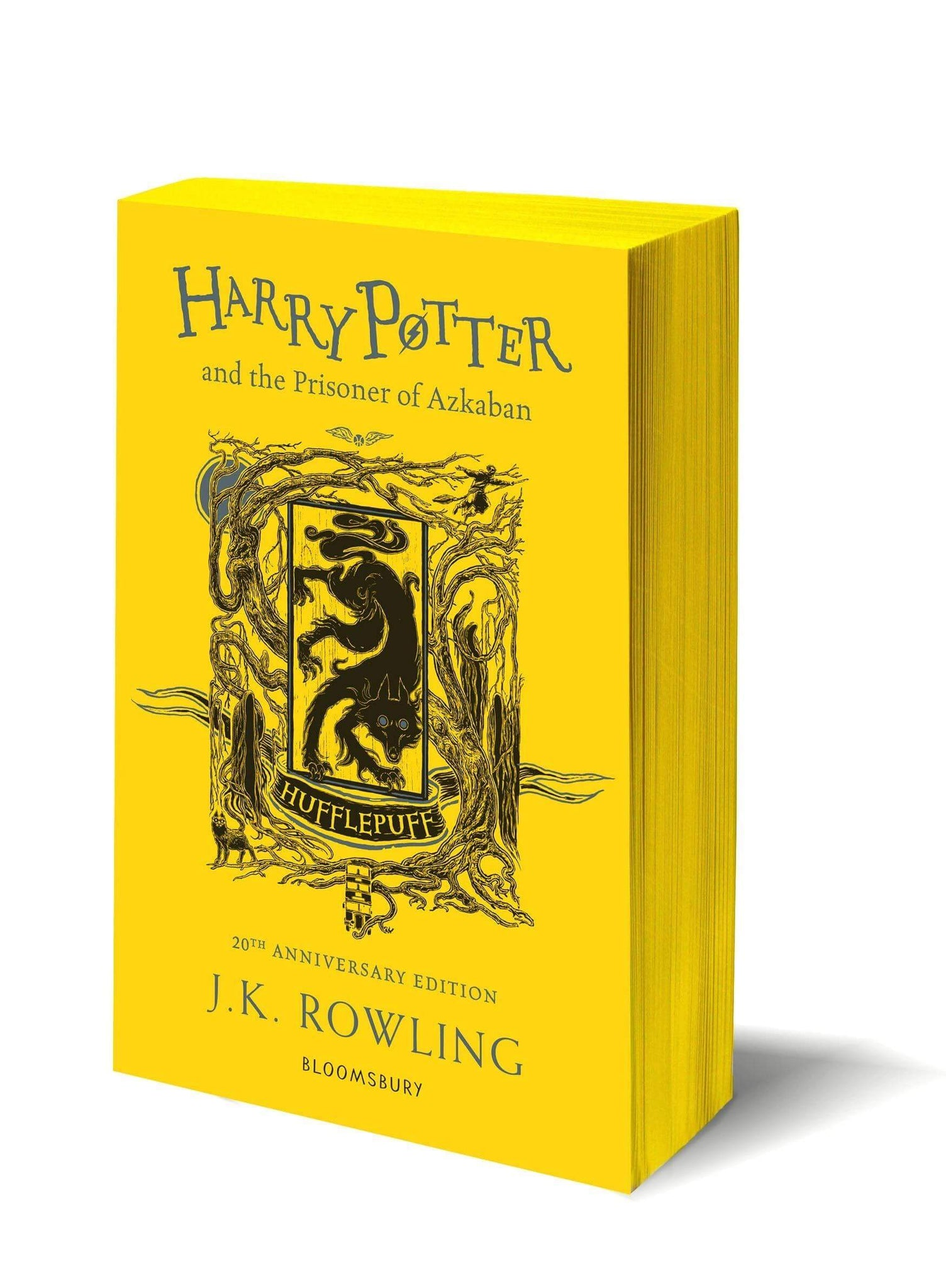 Harry Potter and The Prisoner Of Azkaban Hufflepuff Edition Paperback