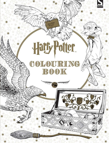 Official Harry Potter Coloring Book at the best quality and price at House Of Spells- Harry Potter Themed Shop In London. Get Your Harry Potter Coloring Book now with 15% discount using code FANDOM at Checkout. www.houseofspells.co.uk.
