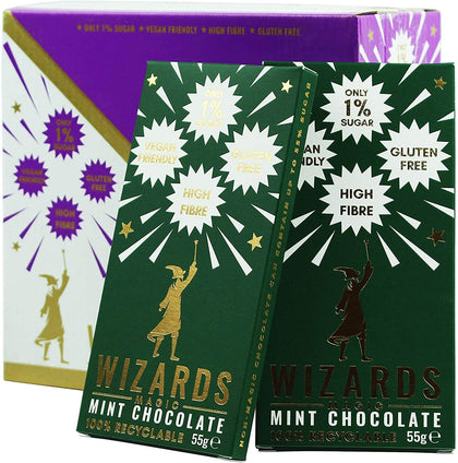 Official Wizards Magic Mint Chocolate at the best quality and price at House Of Spells- Fandom Collectable Shop. Get Your Wizards Magic Mint Chocolate now with 15% discount using code FANDOM at Checkout. www.houseofspells.co.uk.