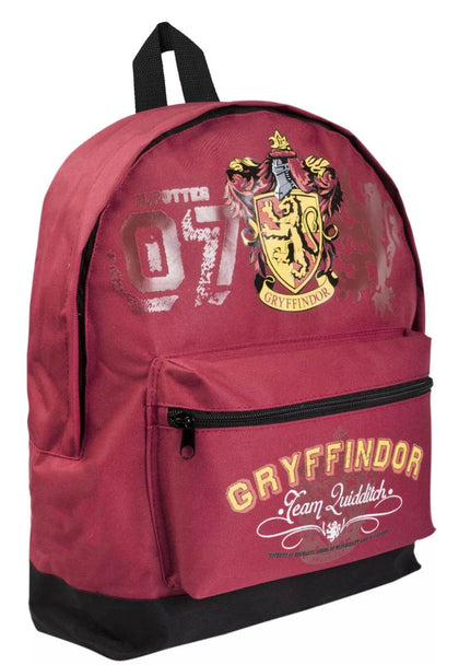 Official Gryffindor backpack at the best quality and price at House Of Spells- Fandom Collectable Shop. Get Your Gryffindor backpack now with 15% discount using code FANDOM at Checkout. www.houseofspells.co.uk.