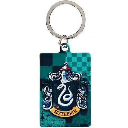 Harry Potter Slytherin Metal Keyring